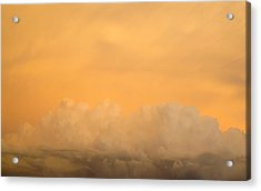 Sky Fire 004 Acrylic Print by Tony Grider