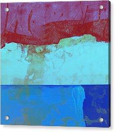 Sky Into The Sea Acrylic Print by Carol Leigh