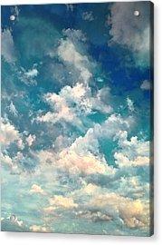 Sky Moods - Refreshing Acrylic Print by Glenn McCarthy