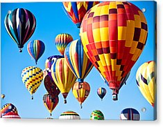 Sky Of Color Acrylic Print by Shane Kelly