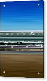 Sky Water Earth Acrylic Print by Michelle Calkins