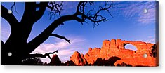 Skyline Arch, Arches National Park Acrylic Print by Panoramic Images
