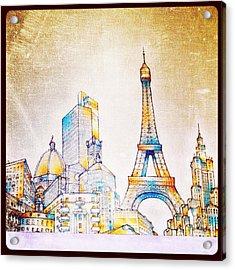 Skyline Of The World Acrylic Print by Natasha Marco