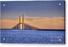 Skyway Bridge Acrylic Print by Marvin Spates