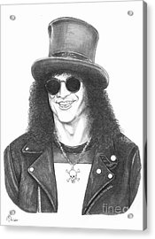 Slash Acrylic Print by Murphy Elliott