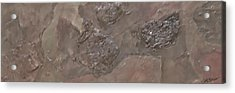 Slate Slab Acrylic Print by Jim Ellis