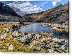 Slate Valley Acrylic Print by Adrian Evans