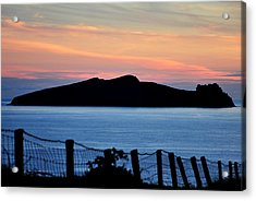 Sleeping Giant Acrylic Print by Florian Walsh