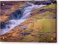 Slide Rock State Park, Oak Creek Acrylic Print by Rob Sheppard