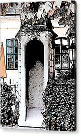 Small Alcove Acrylic Print by Cecil Fuselier