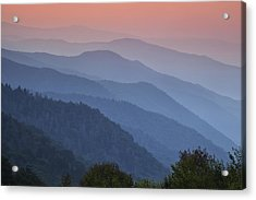 Smoky Mountain Morning Acrylic Print by Andrew Soundarajan