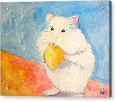 Snack Time Acrylic Print by Debi Starr