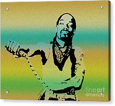 Snoop Acrylic Print by Cheryl Young