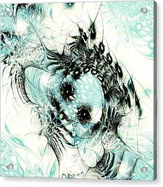 Snowy Owl Acrylic Print by Anastasiya Malakhova