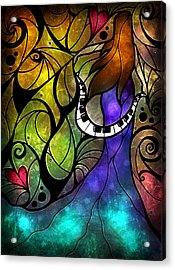 So This Is Love Acrylic Print by Mandie Manzano