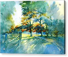 So You See The Morning Light? Acrylic Print by Virgil Carter