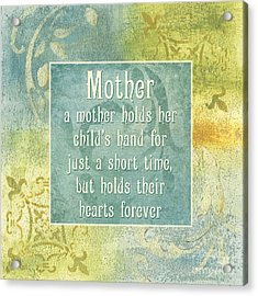 Soft Spa Mother's Day 1 Acrylic Print by Debbie DeWitt