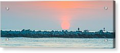 Soft Sunrise At Jetty Park Acrylic Print by Cliff C Morris Jr