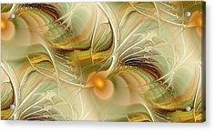 Soft Wings Acrylic Print by Anastasiya Malakhova
