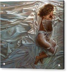 Sogni Dolci Acrylic Print by Mia Tavonatti