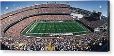 Sold Out Crowd At Mile High Stadium Acrylic Print by Panoramic Images