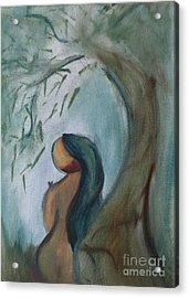Solitude Acrylic Print by Teresa Hutto