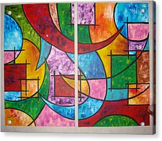 Solution To Sanity Acrylic Print by Catherine Nichols