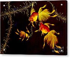 Something Is Fishy Here Acrylic Print by Al Bourassa