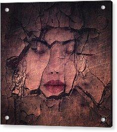 Sometimes Your Whole Life Cracks Acrylic Print by Gun Legler