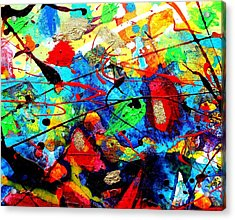Somewhere Over The Rainbow Acrylic Print by John  Nolan