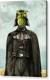 Son Of Darkness Acrylic Print by Eric Fan