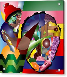 Son Of The Bakoda Acrylic Print by Charles Smith