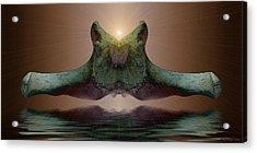 Sonar 5 Acrylic Print by WB Johnston