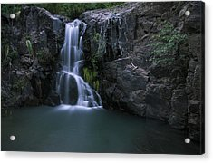 Song Of Hiawatha Acrylic Print by Aaron S Bedell
