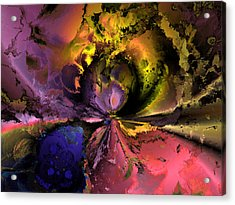 Song Of The Cosmos Acrylic Print by Claude McCoy