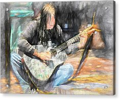 Songs From The Street Acrylic Print by Bob Orsillo