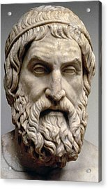 Sophocles Acrylic Print by Greek School