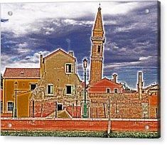 Sosta Vietata No Parking Acrylic Print by Ira Shander