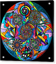 Soul Retrieval Acrylic Print by Teal Eye  Print Store