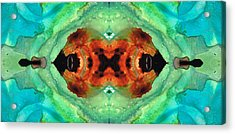 Soul Symphony - Abstract Art By Sharon Cummings Acrylic Print by Sharon Cummings