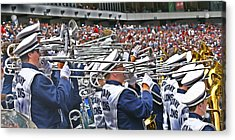 Sounds Of College Football Acrylic Print by Tom Gari Gallery-Three-Photography