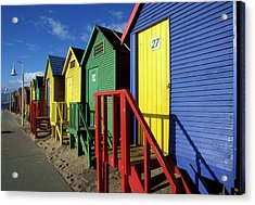 South Africa, Cape Town, Brightly Acrylic Print by Paul Souders