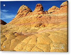 South Coyote Buttes 4 Acrylic Print by Bob Christopher