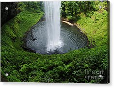 South Falls Oregon Acrylic Print by Bob Christopher