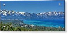 South Lake Tahoe View Acrylic Print by Brad Scott