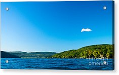 South View Of Canandaigua Lake Acrylic Print by Steve Clough