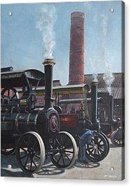 Southampton Bursledon Brickworks Open Day Acrylic Print by Martin Davey