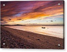 Southampton Shores Sunset Acrylic Print by Ryan Moore