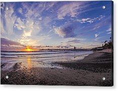 Southern California Winter Acrylic Print by Sean Foster