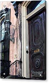 Southern Door Acrylic Print by John Rizzuto
